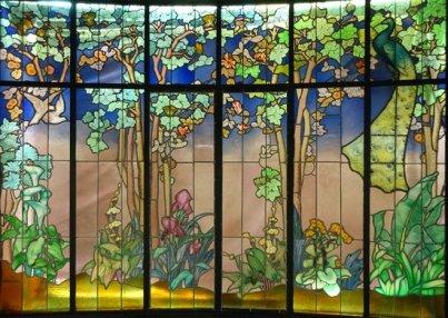 Vitrail de Jacques Grüber-Musée de l'école de Nancy